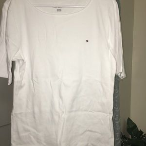 Tommy Hilfiger white shirt very nice and thick